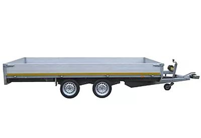 Plateauwagen Lengte: 400 CM Breedte: 180 CM /Rijbewijs:BE Image