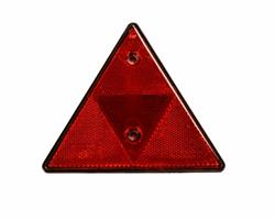 Reflector driehoek rood Image