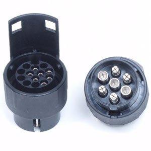 Verloopstekker adapter : Auto 7 polig - Aanhanger 13 polig Image